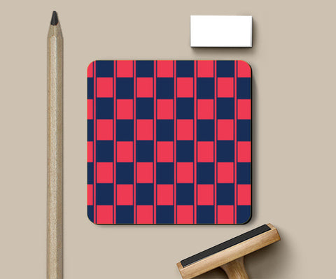 Coasters, Checker Box Pattern Coasters | Artist : Jobin Jacob, - PosterGully