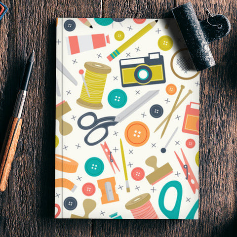 customised vector art Notebook | Artist : Fariya Arts