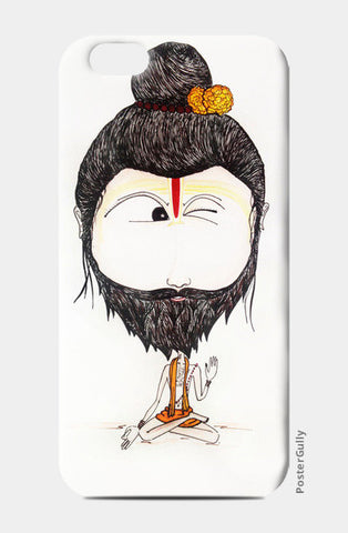 Wink Guy iPhone 6/6S Cases | Artist : Kanika Bardava