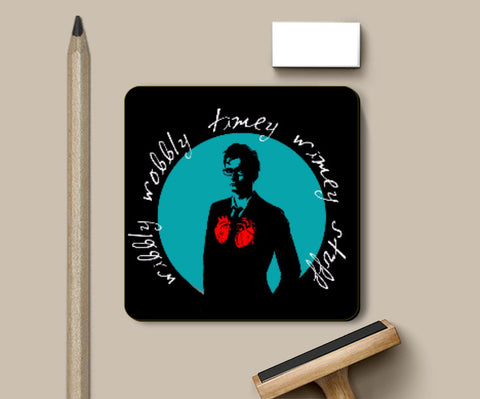 Coasters, Doctor Who - The Tenth Doctor Coaster | Hardy16_, - PosterGully