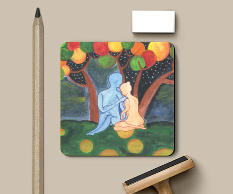Coasters, Love Artwork Coasters | Artist: Teena Chauhan, - PosterGully