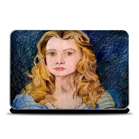 Alice in Wonderland Laptop Skins | Artist : Papo Mukherjee