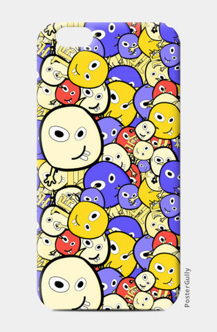 Doodle cartoon characters  iPhone 6/6S Cases | Artist : Designerchennai