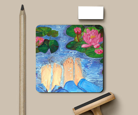 Coasters, Eternal Love Coasters | Artist : Kriti Pahuja, - PosterGully