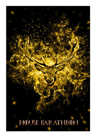 House Baratheon Art PosterGully Specials