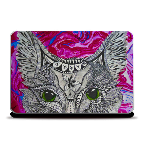What's Going On? Laptop Skins | Artist : lubaina kapoor
