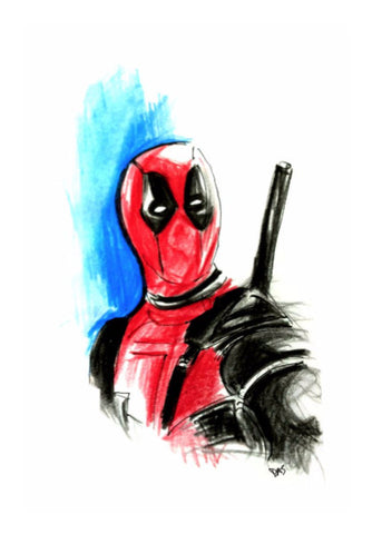 Wall Art, Deadpool Artwork | Artist: Tridib Das, - PosterGully