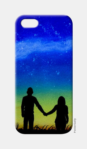 Sunset Love Painting iPhone 5 Cases | Artist : Rahul Tanwar