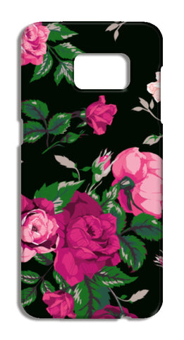 vector rose Samsung Galaxy S7 Edge Cases | Artist : Fariya Arts