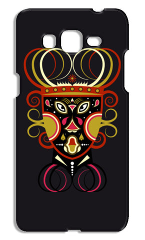 African Ceremonial Tribal Mask Samsung Galaxy Grand Prime Cases | Artist : Designerchennai