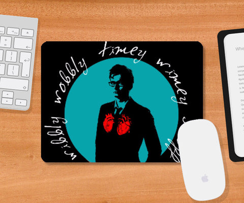 Mousepad, Doctor Who - The Tenth Doctor Mousepad | Hardy16_, - PosterGully