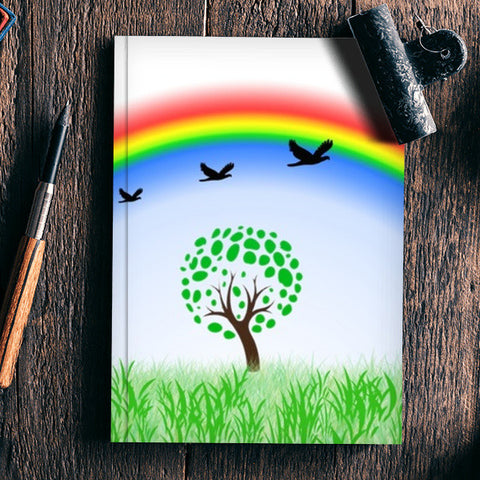 Rainbow Notebook | Artist : pravesh mishra