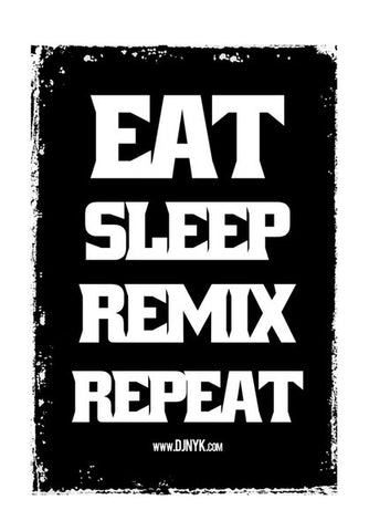 Wall Art, REMIX REPEAT Wall Art | DJ NYK, - PosterGully