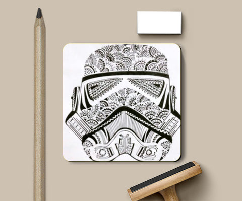 storm trooper Coasters | Artist : All the randomness