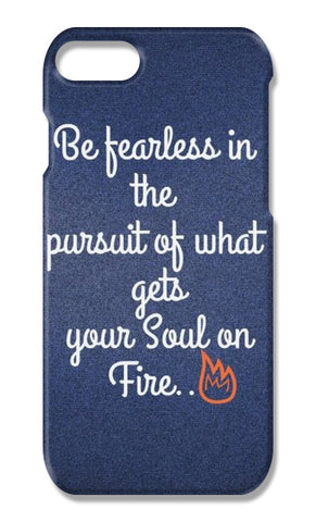 Be Fearless iPhone 7 Plus Cases | Artist : Pallavi Rawal
