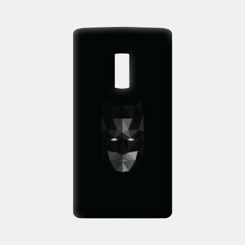 Batman low poly One Plus Two Cases | Artist : Shashank Ahuja