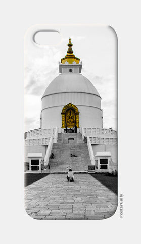 iPhone 5 Cases, World Peace Pagoda iPhone 5 Cases | Artist : Adama Toure, - PosterGully