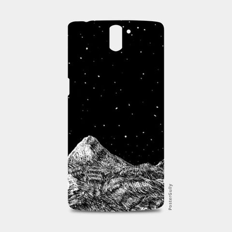 Starry Mountain One Plus One Cases | Artist : Mohammed Chiba