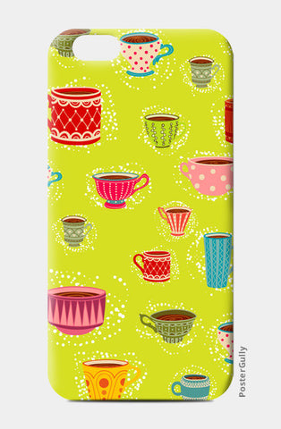 iPhone 6 / 6s, English Tea Cup iPhone 6 / 6s Cases | Artist : Pratyusha Subramaniam, - PosterGully