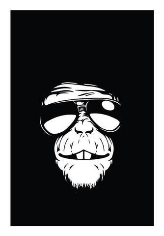 Monkey Glasses Wall Art PosterGully Specials
