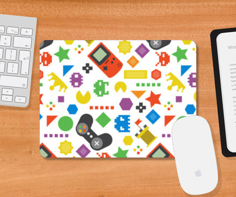 Video Games Mousepad | Artist : Colour me expressive