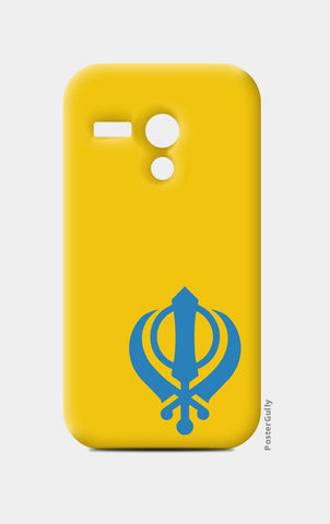 Moto G Cases, Khanda Moto G Cases | Artist : Gagandeep Singh, - PosterGully
