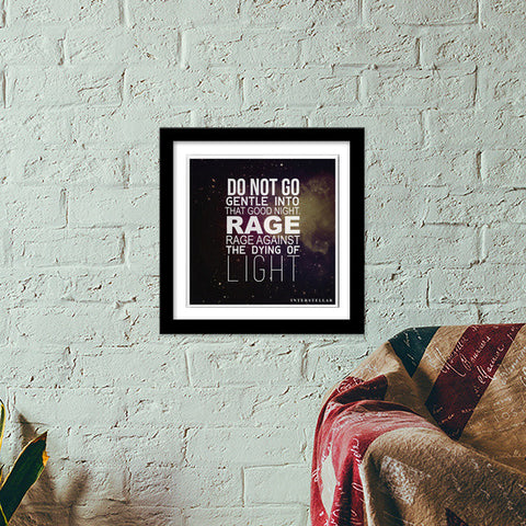 MOTIVATIONAL QUOTES  Premium Square Italian Wooden Frames | Artist : Anirudh Khanna