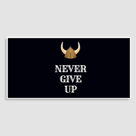 Never Give Up Door Poster | Artist : Pallavi Rawal