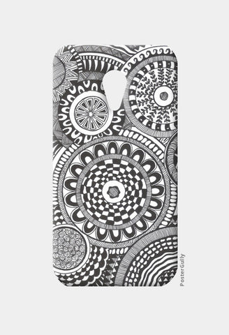 Prints in Circles Moto G2 Cases | Artist : Aniket Mitra