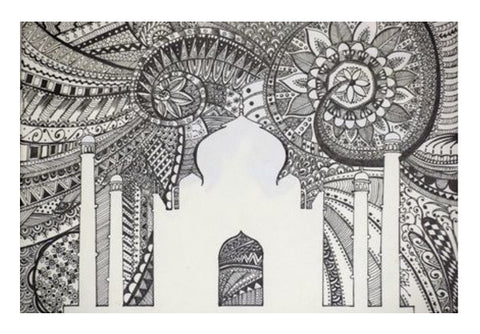 Wall Art, Taj Mahal Wall Art  | Artist : Kriti Pahuja, - PosterGully