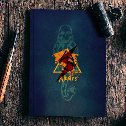 Always | Harry Potter Notebook | Artist : Ved Uttam