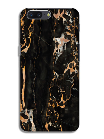 Gold Marble OnePlus 5 Cases | Artist : Keepcalm Prints