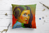 Carrie Fisher Cushion Covers | Artist : Delusion