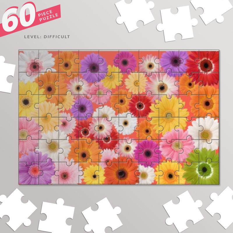 Covered with flowers Jigsaw Puzzles | Artist : Pallavi Rawal