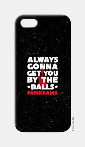 iPhone 5 Cases, By The Balls iPhone 5 Cases | Artist : Parikrama Officials, - PosterGully
