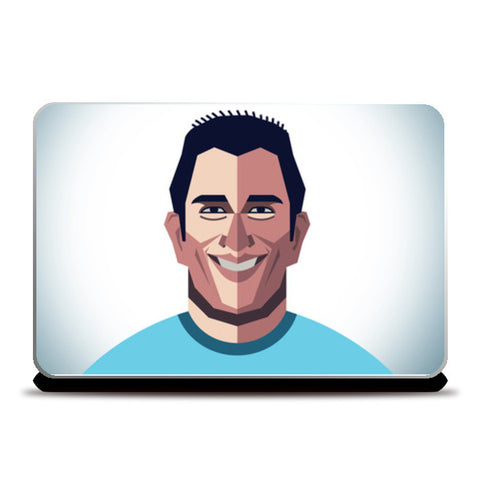 Dhoni Abstract Geometric Laptop Skins | Artist : mohit lakhmani