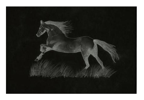 Black Beauty Wall Art  | Artist : Saswata Das
