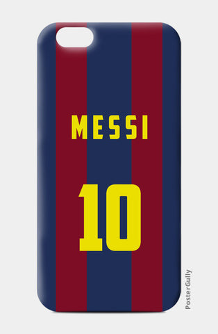 FOOTBALL- MESSI iPhone 6/6S Cases | Artist : Naman Kapoor