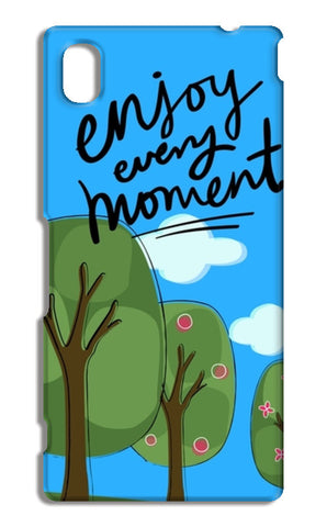 Enjoy every moment Sony Xperia M4 Aqua Cases | Artist : Pallavi Rawal