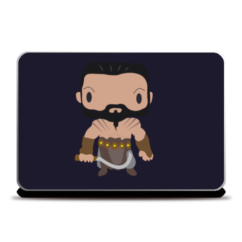 Khal Drogo Games of Throne Funny Laptop Skins | Artist : Aniket Kamal