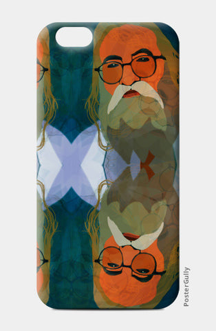 Intact Spirit - Indian Man iPhone 6/6S Cases | Artist : Rameshwar Chawla