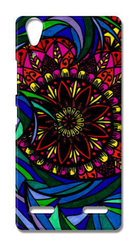 The Mandala Wave Lenovo A6000 Cases | Artist : Gursimran Kaur