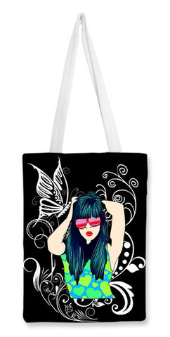Dream Girl! Tote Bags | Artist : Design_Dazzlers