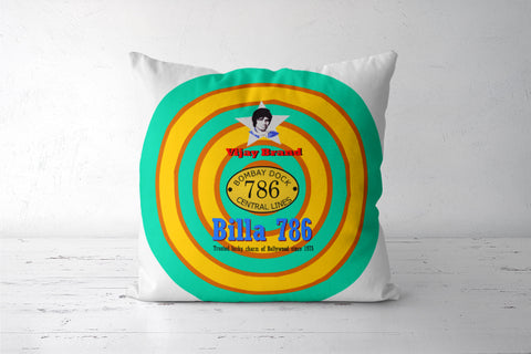 Vijay Deewar Billa 786 Lucky Charm Cushion Covers | Artist : Keshava Shukla