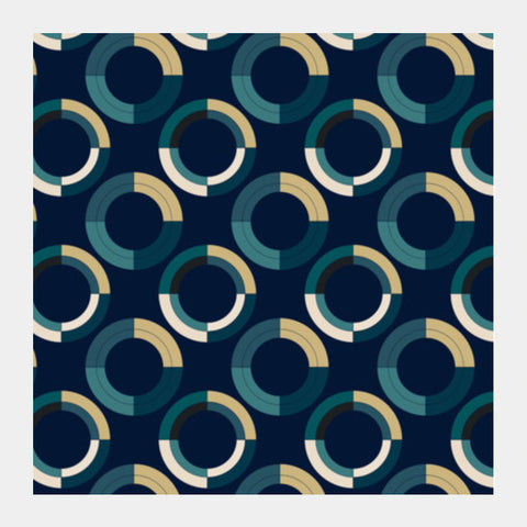 Fashionable 3d circle pattern Square Art Prints | Artist : Designerchennai