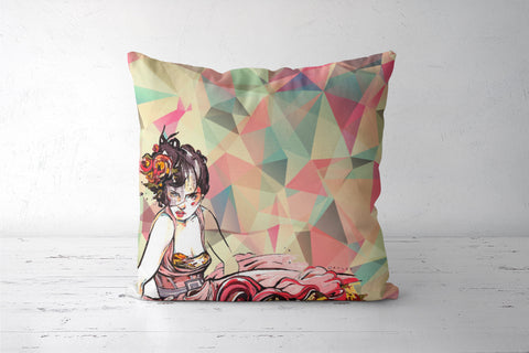In Vogue Cushion Covers | Artist : Astha Mathur