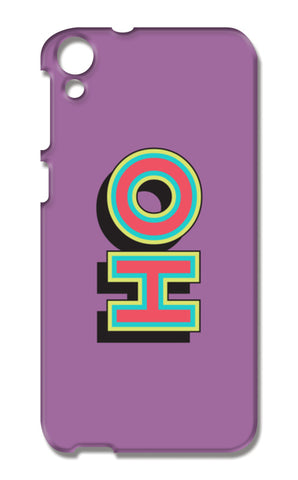 Colorful Pop Art Typography HTC Desire 820 Cases | Artist : Stuti Bajaj