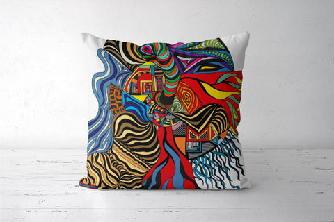 Psychedelic mania! Cushion Covers | Artist : Jessica Maria