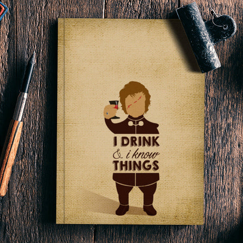 Tyrion Lannister | Game of Thrones Notebook | Artist : Neha Karnik