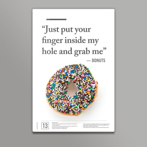 Junk Seduction_DONUTS Metal Prints | Artist : Scatterred Partikles